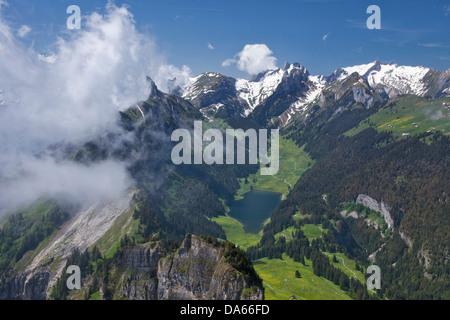 Zu Hoher Kasten Box Alpstein Berg Berge Kanton Appenzell