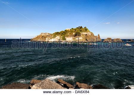 Lachea Insel, Arcipelago dei Ciclopi, Sizilien, Italien - Stockfoto