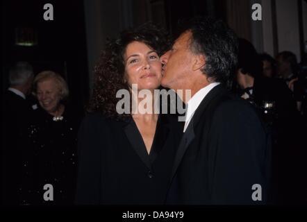 DUSTIN HOFFMAN mit Frau Lisa.American Museum von bewegten Bildern salutiert Dustin Hoffman im Waldorf Astoria Hotel - Stockfoto