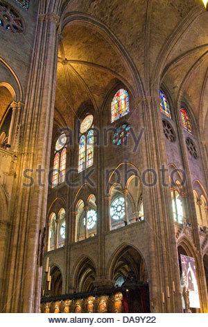 Frankreich, Ile de France, Paris, Kathedrale Notre-Dame - Stockfoto
