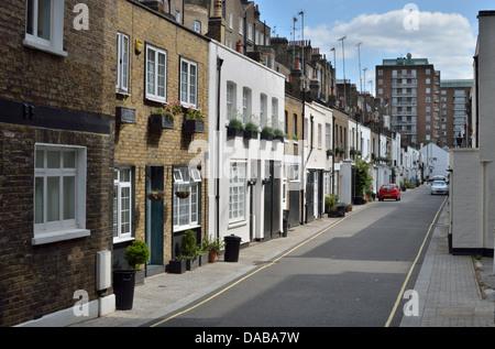 Gloucester Place Mews, W1 Marylebone, London, UK. - Stockfoto