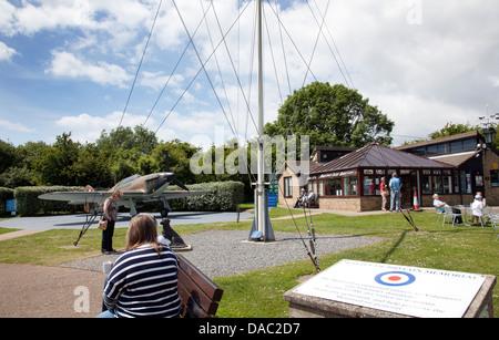 Schlacht von Großbritannien War Memorial Gelände zu Capel-Le-Ferne in Folkestone - Kent UK - Stockfoto