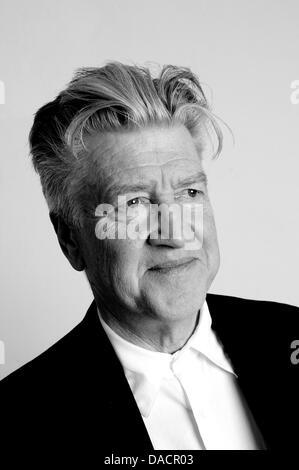 Datei - ein Archiv-Bild vom 7. Oktober 2010 den US-amerikanischen Regisseur David Lynch zeigt während der Verleihung - Stockfoto