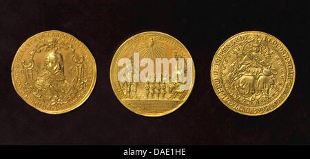 Wertvolle Münzen Sind An Das Münzkabinett Des Schlosses Friedenstein