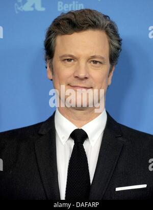"""Britischer Schauspieler Colin Firth besucht Fototermin für den Film """"Kings Speech"""" während der 61. Internationalen - Stockfoto"""