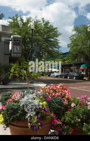 SOUTH PARK AVENUE WINTER PARK ORLANDO FLORIDA USA - Stockfoto
