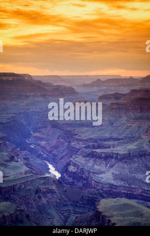 USA, Arizona, Grand Canyon Nationalpark (South Rim), Lipan Punkt - Stockfoto