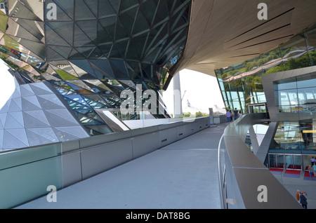 BMW Welt BMW Welt fantastischer futuristische Architektur! München, Bayern, Deutschland - Stockfoto