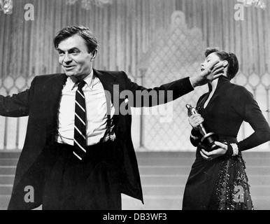 Ein Stern ist Warner Bros., 1954 geboren. Unter der Regie von George Cukor. Mit Judy Garland, James Mason, - Stockfoto