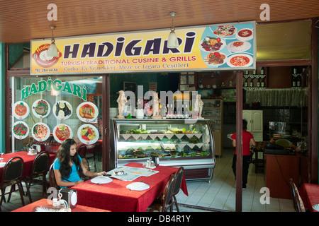 Ägypten, Dalyan, Provinz Mugla, Hadigari, Türkische Küche, Karetta Sok. Davran Pasaji No. 4 - Stockfoto
