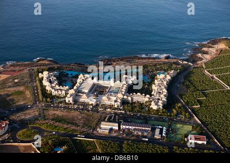 Hotel-Anlage in der Nähe von Alcala im Westen von Teneriffa, Teneriffa, Kanarische Inseln, Spanien - Stockfoto