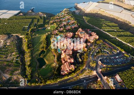 Hotel Einrichtungen im Südwesten von Teneriffa, Teneriffa, Kanarische Inseln, Spanien - Stockfoto