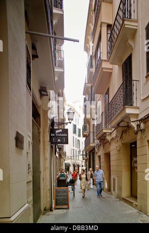 Carrer Paraires, Palma De Mallorca - Stockfoto