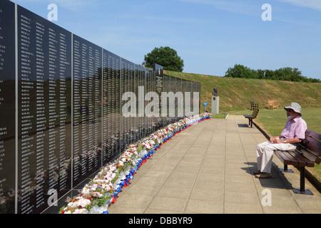 """Schlacht von Großbritannien War Memorial zu """"The Few' bei Capel le Ferne Kent England UK - Stockfoto"""