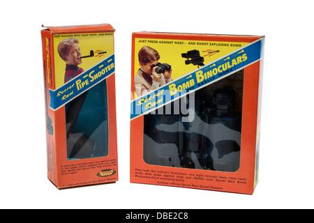 Topper spielzeug 1966 geheime sam explodierende bombe fernglas