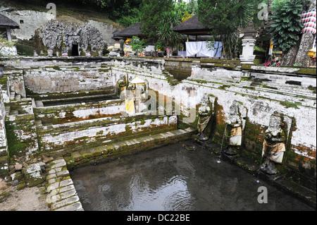 Der Tempel von Goa Gajah nahe Ubud auf der Insel Bali, Indonesien - Stockfoto