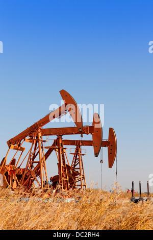 Stahl Öl Pumpe Buchsen (HDR) - Stockfoto