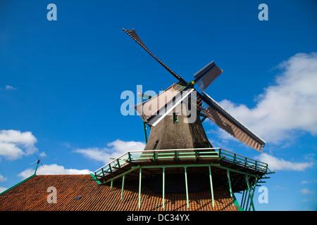 Europa, Niederlande, Nord-Holland, Zaandam, Zaanse Schans, - Stockfoto