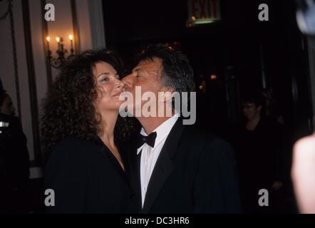 DUSTIN HOFFMAN mit Frau Lisa.American Museum des bewegten Bilder Grüße Dustin Hoffman im Waldorf Astoria in New - Stockfoto