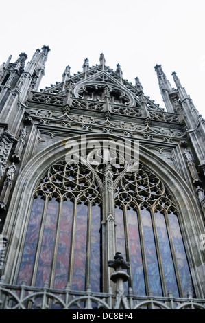 Römisch-katholische Kathedrale St. John (Sint-Janskathedraal), 's-Hertogenbosch, Nordbrabant im Miniaturpark Madurodam, - Stockfoto
