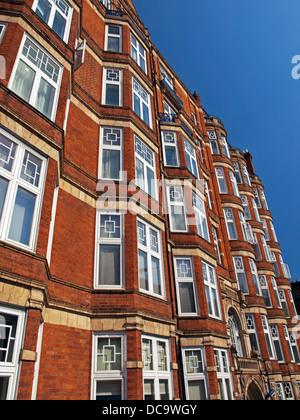 Detail der englischen Architektur auf Gloucester Place, Marylebone - Stockfoto