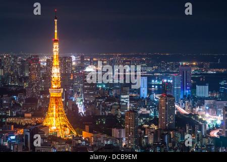Tokyo Tower in Tokio, Japan. - Stockfoto