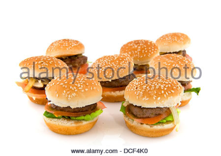 Hamburger - Stockfoto