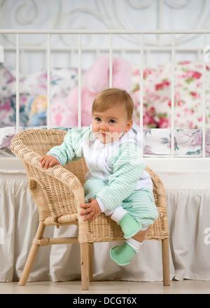 Babymädchen - Stockfoto