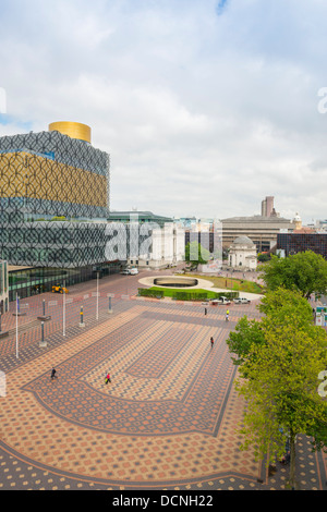 Die neue Library of Birmingham in Centenary Square, Birmingham, England - Stockfoto