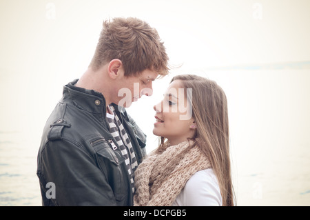 Teenager-Paar in der Liebe - Stockfoto