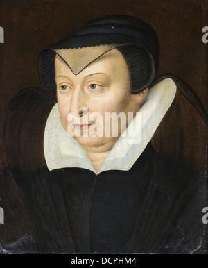Catherine de Medicis, Ehefrau von Henri II - Ecole Française Philippe Sauvan-Magnet / aktive Museum - Stockfoto
