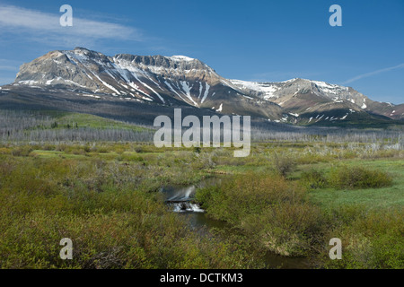 SOFA MOUNTAIN WATERTON LAKES NATIONALPARK ALBERTA KANADA - Stockfoto