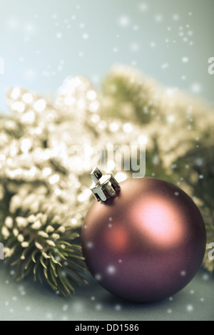Retro-Weihnachtsdekoration - Stockfoto