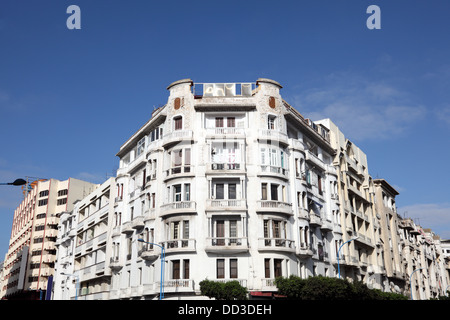 Deco Architektur deco architektur in casablanca marokko stockfoto bild