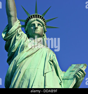 Freiheitsstatue in New York City. - Stockfoto