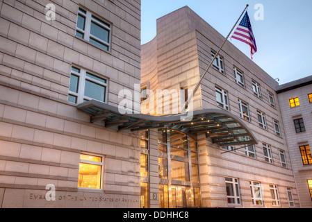 US-Botschaft am Pariser Platz, Berlin, Deutschland - Stockfoto