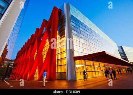 Museum der menschlichen Evolution. Burgos. Kastilien-León. Spanien. - Stockfoto