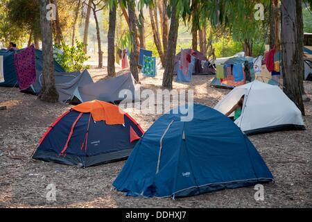 monsanto camping. lissabon, portugal stockfoto, bild: 59127322 - alamy