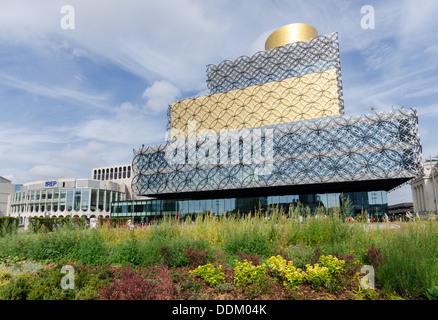 Die neue Library of Birmingham ist die größte öffentliche Bibliothek in Europa - Stockfoto