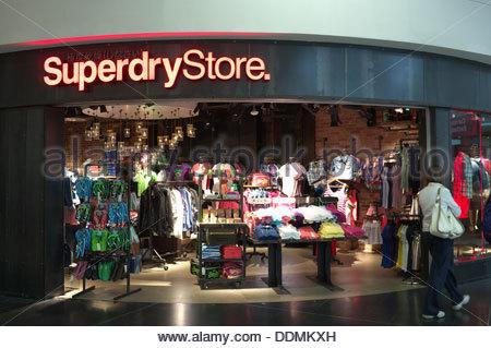 Gatwick South Terminal Shops >> Superdry Fashion Bekleidungsgeschäft im Stadtzentrum von ...