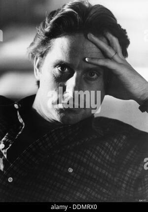 Michael Douglas (1944), amerikanischer Schauspieler, 1983. Artist: Unbekannt - Stockfoto