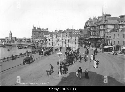 Die Parade, Ramsgate, Kent, 1890-1910. Artist: Unbekannt - Stockfoto