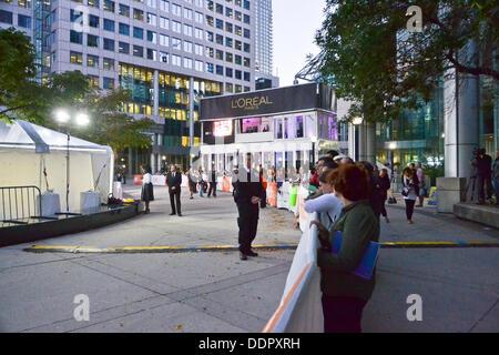 Toronto, Kanada. 05. Sep, 2013. TIFF ist heute eines der renommiertesten Veranstaltungen dieser Art in der Welt. - Stockfoto