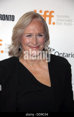 "Toronto, Kanada. 05. Sep, 2013. US-Schauspielerin Glenn Close besucht das 30. Jubiläum-Screening von ""The Big Chill"" - Stockfoto"