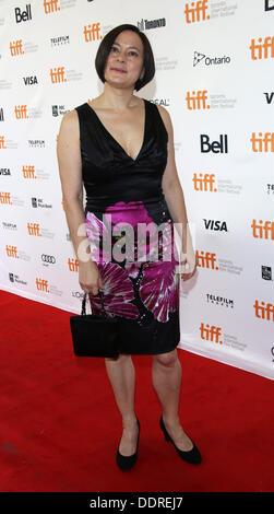 """Toronto, Kanada. 05. Sep, 2013. US-Schauspielerin Meg Tilly besucht das 30. Jubiläum-Screening von """"The Big Chill"""" - Stockfoto"""