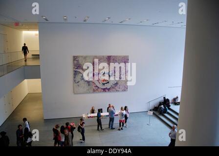 Museum für moderne Kunst-MoMA-Lobby.  Midtown West Manhattan, New York, New York. USA. - Stockfoto