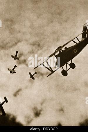 Streben nach. Luftkrieg, Weltkrieg, c1916-c1918. Künstler: unbekannt - Stockfoto