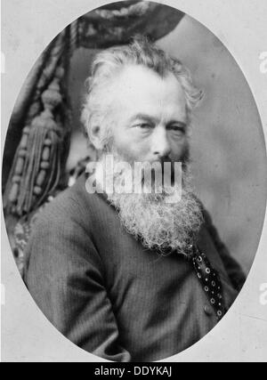 Ivan Shishkin, russischer Künstler, 1870.  Künstler: Andrei Osipowitsch Karelin - Stockfoto