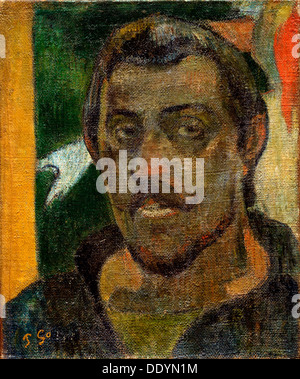 """""""Selbstporträt"""", 1890-1894.  Künstler: Paul Gauguin - Stockfoto"""