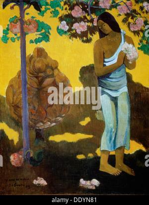 """Te Avae keine Maria (dem Monat der Maria)"", 1899. Künstler: Paul Gauguin - Stockfoto"
